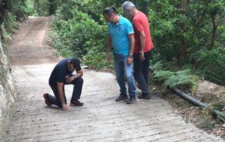Finalizan las obras en tres pistas de acceso en Roque Negro y Afur