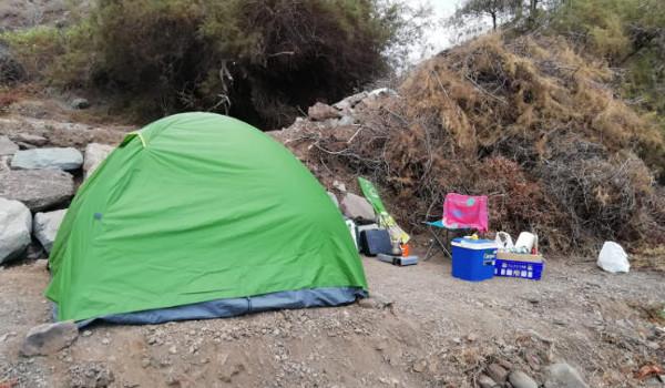 Santa Cruz informa sobre las restricciones de acampar en Anaga