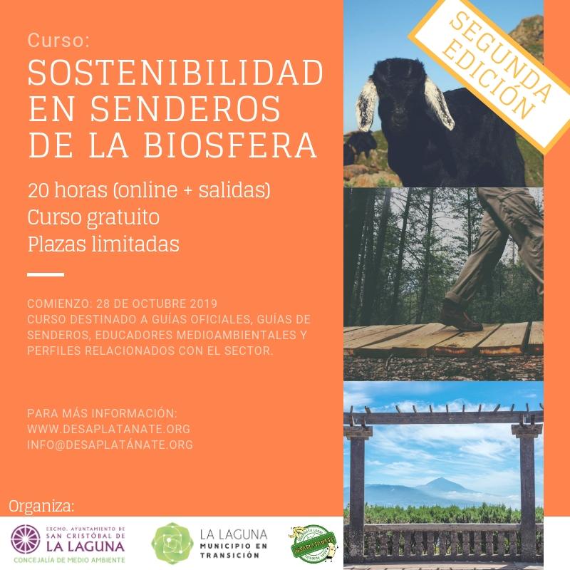 Curso 'Sostenibilidad de Senderos de la Biosfera'