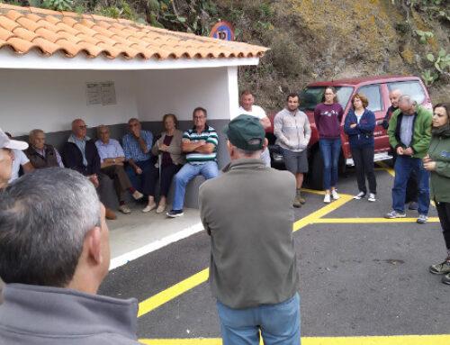 El Cabildo acuerda con los y las residentes de Anaga comenzar las apañadas de cabras asilvestradas