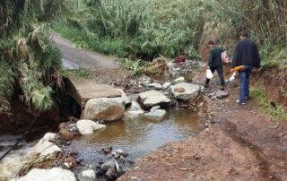 San Andrés reclama la limpieza del barranco Las Huertas