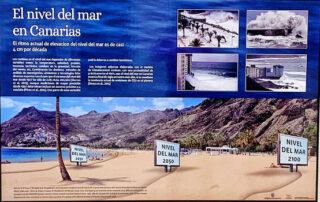 El Parlamento acoge la exposición 'Cambio climático en Canarias'