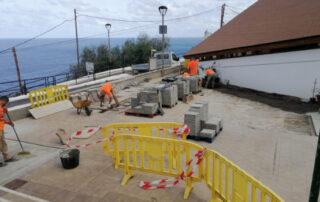 Santa Cruz mejora la accesibilidad de la iglesia de Almáciga