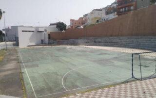 San Andrés exige la finalización de su polideportivo