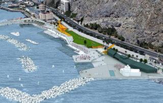 Puertos saca a concurso la obra de la playa de Valleseco