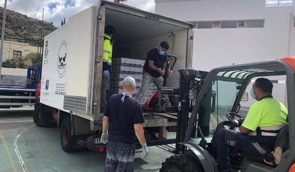 ONG, UMEN, Policía Local y Protección Civil se vuelcan en la asistencia a Anaga