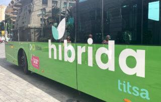 Santa Cruz de Tenerife incorpora guaguas híbridas al transporte público