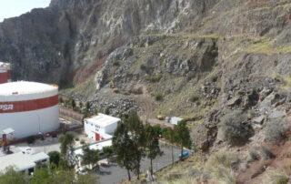 Puertos inicia las obras de saneamiento de las laderas de montaña La Jurada