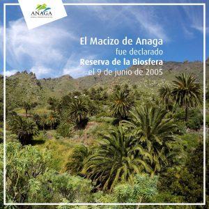 Aniversario Declaración Reserva de la Biosfera del Macizo de Anaga