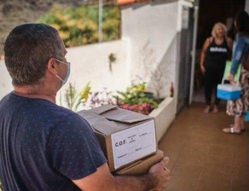 Farmacéuticos y el IASS recorren los caseríos de Anaga