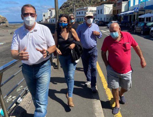 El Cabildo evitará el aparcamiento en los arcenes en la Cruz del Carmen