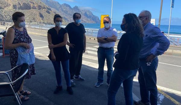 El Cabildo recoge las propuestas vecinales para mejorar la movilidad en Anaga