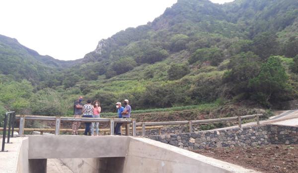 El Cabildo finaliza las obras de mejora de la pista de La Porquera