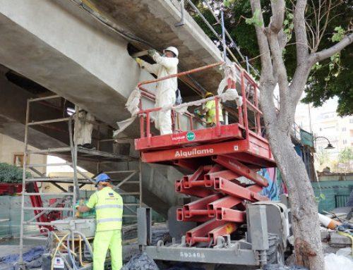 El puente de San Andrés se cierra al tráfico peatonal a partir del lunes